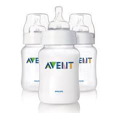 Avent Lot de 3 Biberons 260ml propylene