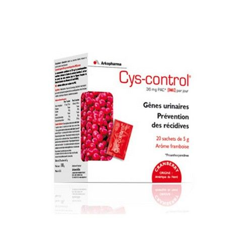 Cys-control lot de 2 (Infections urinaires / Cystites)