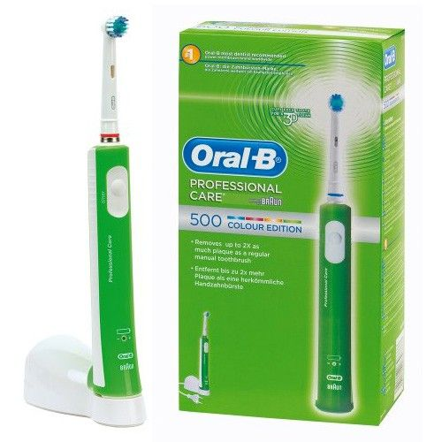 brosse dent lectrique oral b version couleur. Black Bedroom Furniture Sets. Home Design Ideas